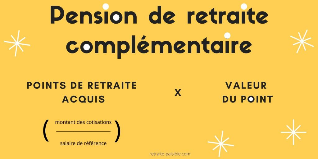 calcul retraite complémentaire