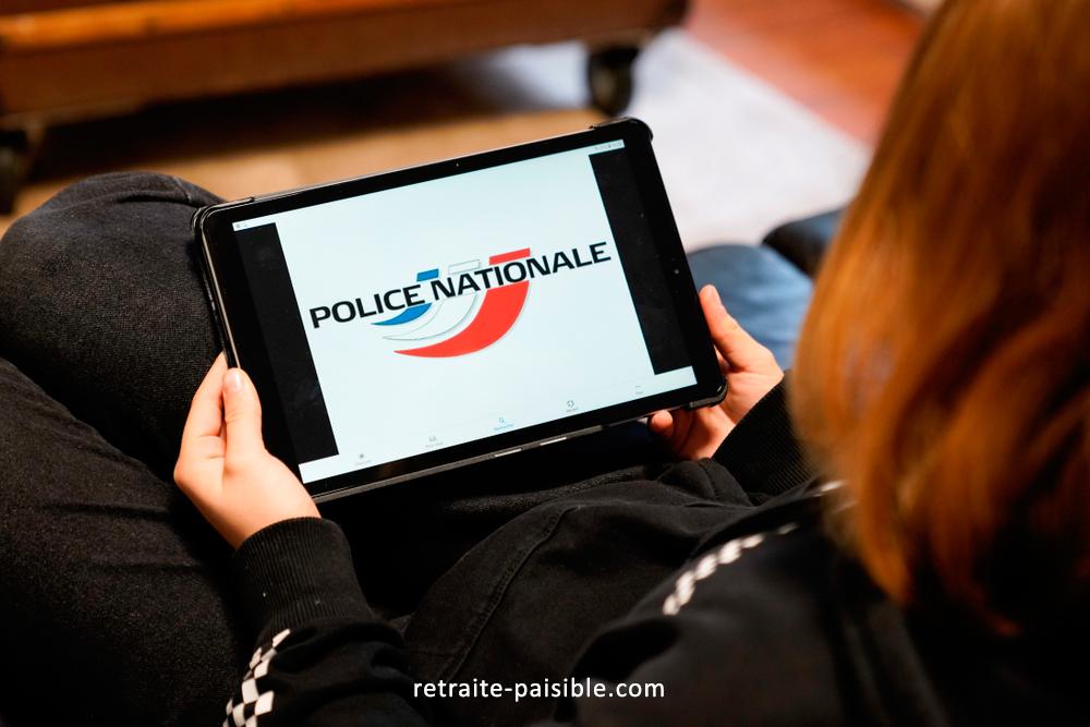 Agents actifs au sein de la Police nationale.