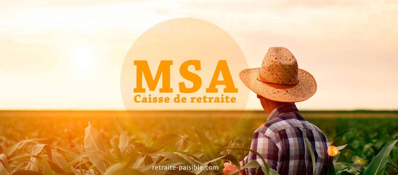 Caisse de retraite MSA