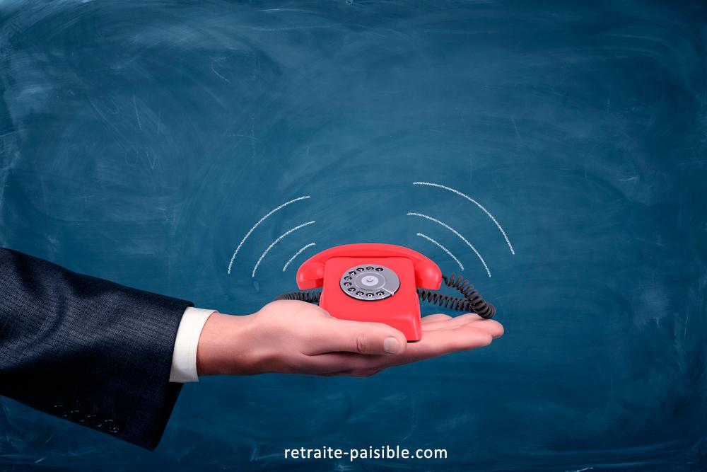 Comment retrouver le téléphone info retraite de base ?