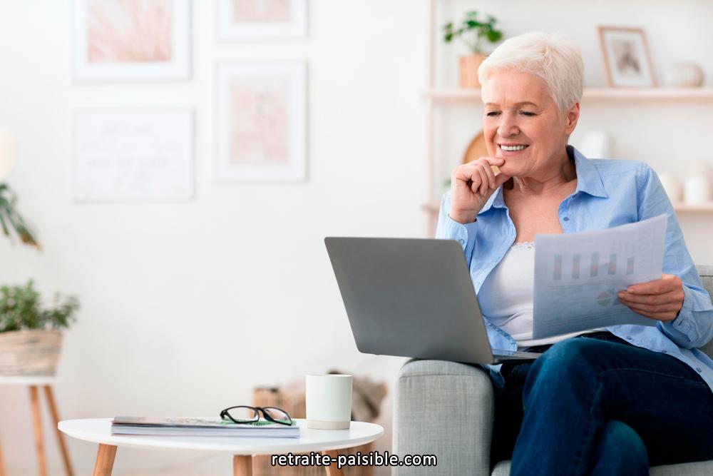 Télécharger les formulaires sur le site de retraite